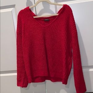 NWOT vneck sweater